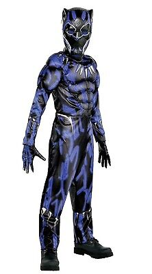 Black Panther The Movie Child Muscle Costume Large 12-14