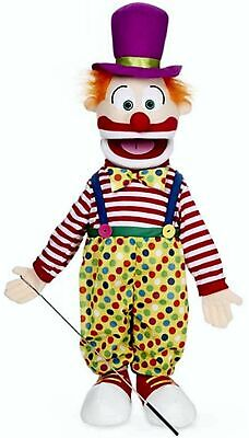 Silly Puppets Clown 25 inch Full Body Puppet