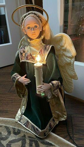 Holiday Creations Animated Angel Figure - 1990