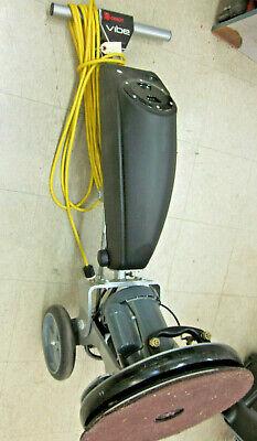 Orbot Vibe Floor Scrubber Machine Made Usa Orbital With Power Sprayer