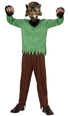 Kinder NEU - Mädchen Karneval Fasching Verkleidung Kostüm (Werwolf Mädchen)