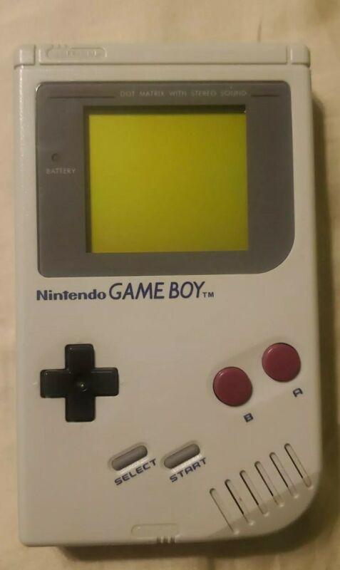 Nintendo Game Boy Launch Edition Gray Handheld System dmg-01