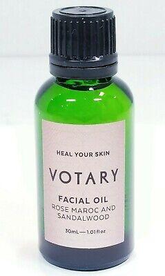 VOTARY Facial Oil – Rose Maroc & Sandalwood