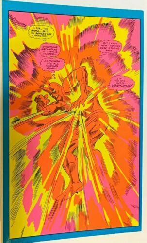 "1971 VINTAGE MARVEL COMICS BLACKLIGHT POSTCARD THE THIRD EYE -NICE, 6x9.25"" #148"