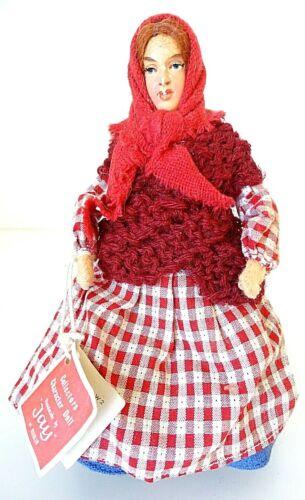 Irish Doll Vintage 1950s Handmade Jay of Dublin Connemara Woman Ireland