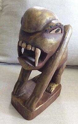 Original aus myanmar alte Skulptur Geist ethnische Völker original
