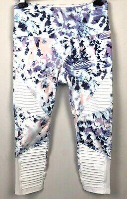 RBX Activewear Leggings Cropped Capri Snaffle Size Medium Yoga fitness