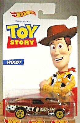 2019 Hot Wheels Toy Story Series-Woodie 1/6 BLVD. BRUISER Brown w/Yellow 5Sp