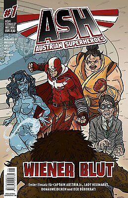 ASH - Austrian Superheroes 1: Wiener Blut - Deutsch - NEU