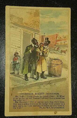 Victorian  Aroisa Coffee Trade Card. 1876-1901.
