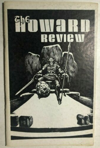 THE HOWARD REVIEW #1 vintage 32-page Robert E. Howard fanzine 1975 2nd edition