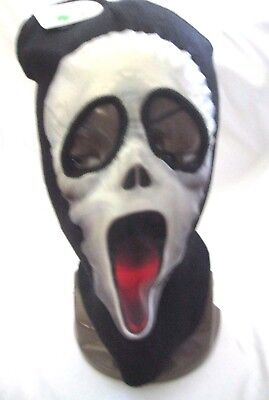Beanie Full Face Scary Movie Red Tongue mask Ski Mask costume halloween-New!