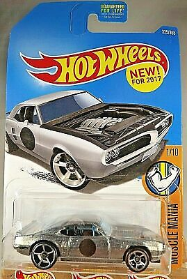 2017 Hot Wheels #335 Muscle Mania 1/10 CUSTOM '67 PONTIAC FIREBIRD Zamac w/OH5Sp
