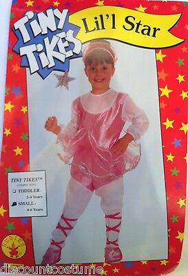 TINY TIKES LIL'L STAR BALLERINA BALLET DANCER GIRLS HALLOWEEN COSTUME SMALL ](Ballet Dancer Halloween Costume)