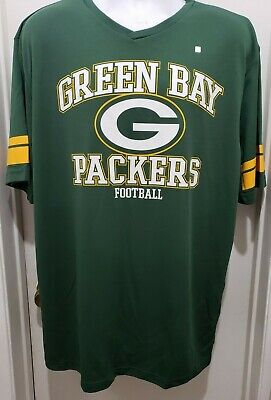 Green Bay Packers New NFL Football Jersey Style Shirt Mens 2XL