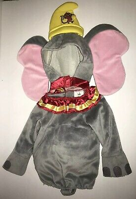 Disney Babies DUMBO Costume 6-12 Months Elephant Baby Toddler 2 Piece Halloween](Dumbo Baby Costume)