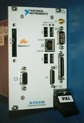 Ni Pxi-8196 Embedded Controller 2ghz40gb2gb National Instruments Tested