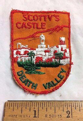 Scottys Castle Death Valley National Park Ca Nv Souvenir Patch