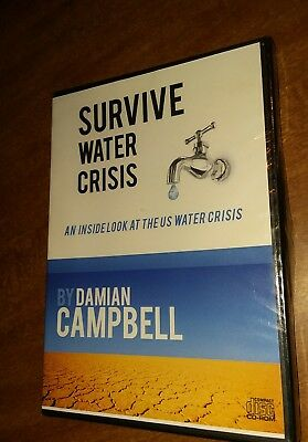 SURVIVE WATER CRISIS: An Inside Look at The U.S. Water Crisis (CD ROM 2011 NEW)