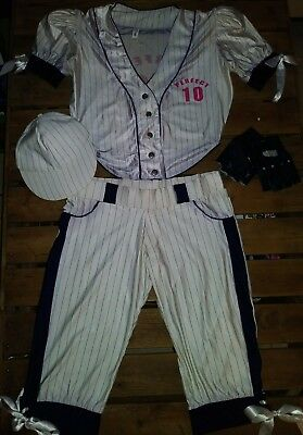 Forplay Costume (Sexy Pitcher Baseball Player Costume Size Small/Medium by Forplay Perfect)