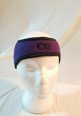 Outdoor Research WINDSTOPPER Ear Band purple  Winter Ski Hat Beanie Size S (Outdoor Research Earband)