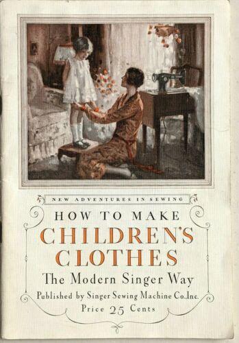 Vtg Booklet - How to Make Children