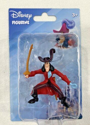 Captain Hook Figurine Cake Topper Disney Peter Pan Villain 2016 Figure NEW