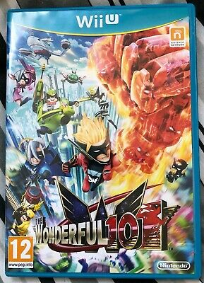 The Wonderful 101 - Wii U - USED - Nintendo - Platinum Games