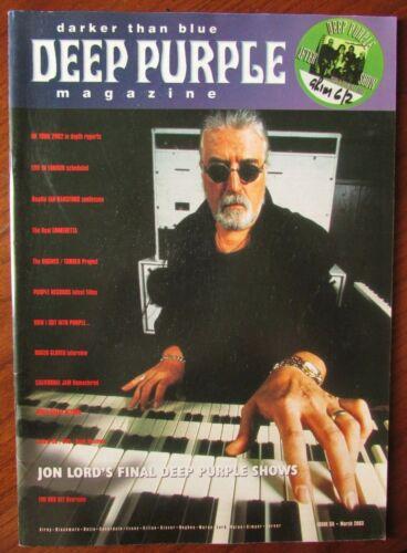 Deep Purple - Darker Than Blue - Fan Club Magazines - Complete Set of 59