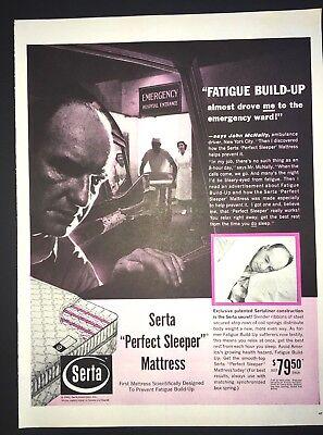 Life Magazine Ad SERTA Perfect Sleeper MATTRESS