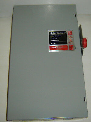 200 Amp Cutler Hammer Dh364ugk Disconnect Safety Switch