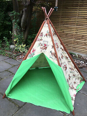 Play Indoor Outdoor Tent Teepee With a Window