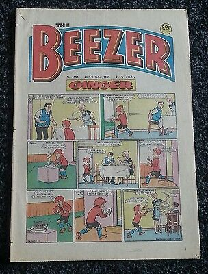 The Beezer Comic issue 1554