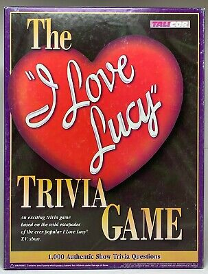 """I Love Lucy"" Trivia Game"