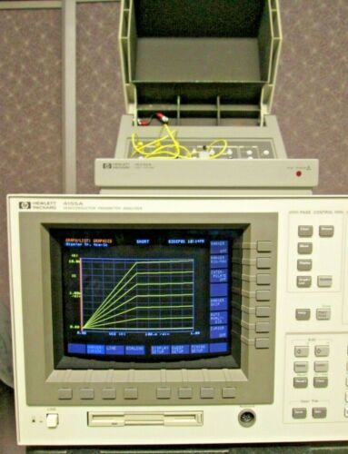 HP 4155A COMPLETE & CALIBRATED! Semiconductor Parameter Analyzer SPA +/-100V