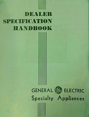 1931-33 GE General Electric Monitor Top Salesman's Catalog of Illustrated Detail