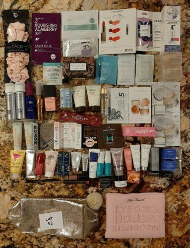 Huge 70+ Lot Prestige Brands Sephora Ulta All Full Deluxe Sz Beauty Skincare 52