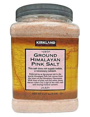 Kirkland Signature Ground Himalayan Pink Salt 5 LB