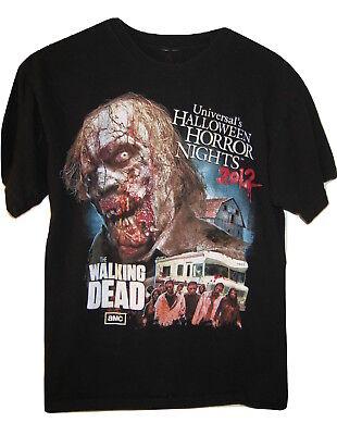 Halloween Horror Nights Walking Dead Shirt (Halloween Horror Nights Silent Hill T Shirt Walking Dead M Universal Studios)