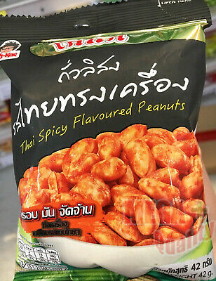 Koh-Kae Thai Spicy Flavor Peanuts Premium Quality for Camping, Party, Trip 42 g.