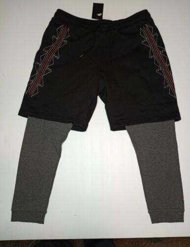 New Men's Nike Sportswear N7 SweatPants Shorts Combo Style