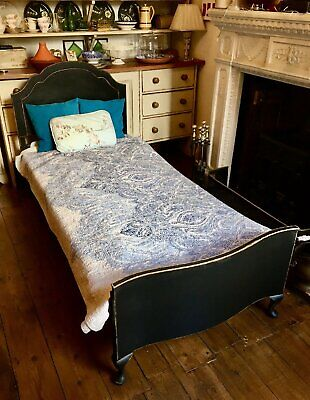 VINTAGE BED  BY  STAPLES & CO  LONDON  #2 I CAN STORE FOR A HOLDING DEPOSIT