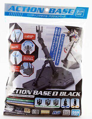 Bandai Gundam Action Base 1 Black Stand Model Kit For HG/ 1/144/ RG/ MG/ 1/100 100 Action Base
