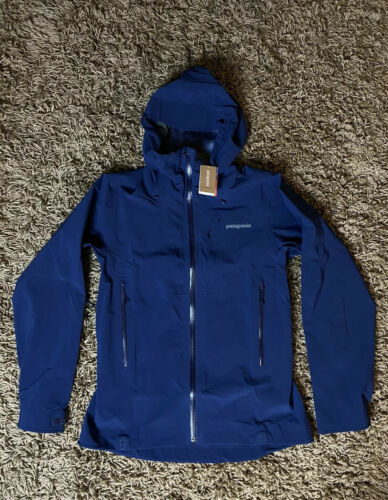 NWT Patagonia Women's M Classic Navy Galvanized Jacket MSRP