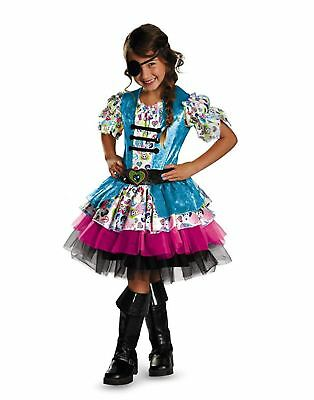 Disguise Playful Pirate Fairy Princess Girls Costume Multicolor Size:XS 3T-4T - Princess Pirate Costume Toddler