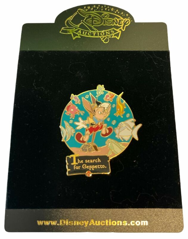 Disney Auctions - Story of Pinocchio - Search for Geppetto Pin