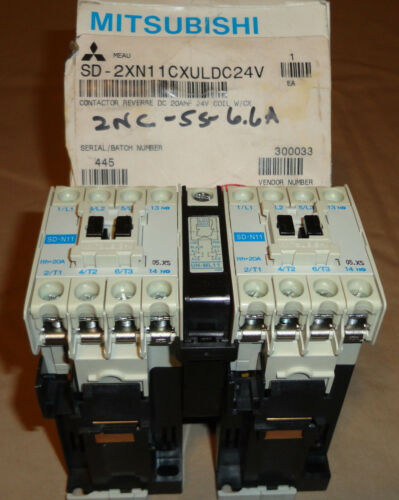 MITSUBISHI SD-2XN11CXULDC24V REVERSING CONTACTOR 5D-2XN11CX NEW