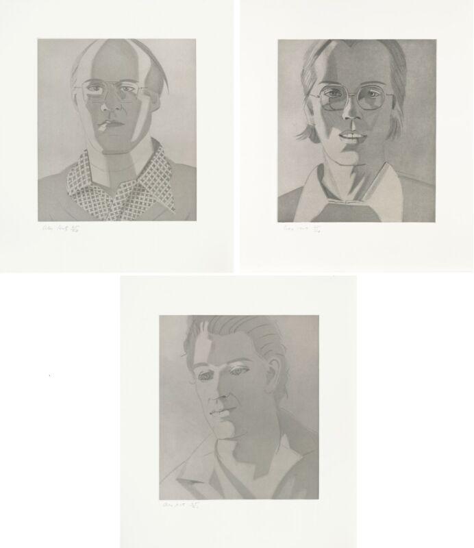 "Alex Katz ""mac Ron Nabil"" | Give Me Tomorrow Portfolio | Rare Hand Signed Prints"