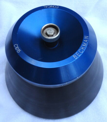 Beckman C1015 Fixed Angle Conical Rotor with Cover