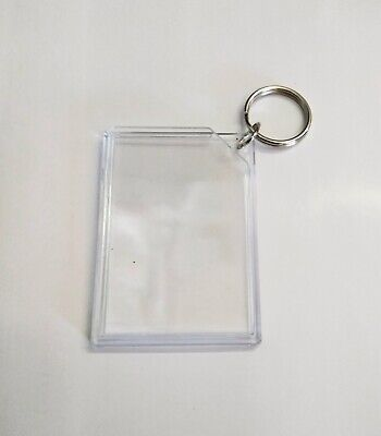 Picture Key - Acrylic Picture Photo Frame Key Chain 2x3 Inches